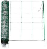 Schapennet extra zwaar groen Titan 90cm hoog, 50m lang dubbele poot | Kuiper Koekange
