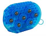 Borstel magneet massage blauw