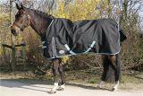 Buitendeken thor, black, lightblue bies, maat 215 | Kuiper Koekange