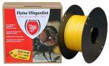 Flytec vliegenkleeflint compleet 400m geel | Kuiper Koekange