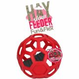 Hay slowfeeder fun & flex 20cm - rood