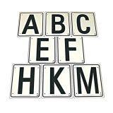 Manegeletters MBFAKEHC set van 8 | Kuiper Koekange